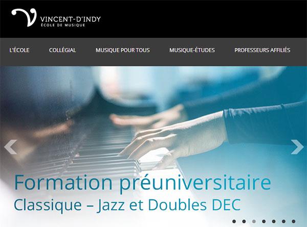 École de Musique Vincent d'Indy en ligne