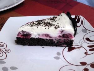 Gâteau double chocolat framboises sans gluten