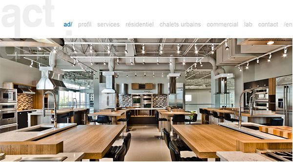 Actdesign design d 39 int rieur am nagement architecture for Cours de design interieur montreal