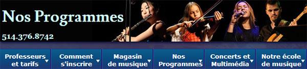 Académie de Musique de Montréal en ligne