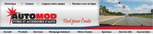 AutoMod Vitres Accessoires Auto en ligne
