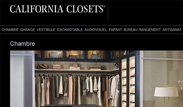 California Closets Chambre Garage Vestibule