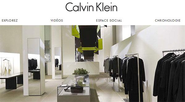 Calvin Klein en ligne