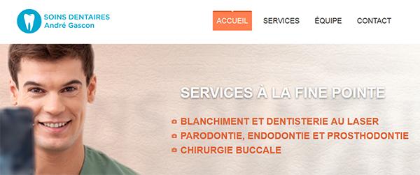 Centre Dentaire André Gascon en Ligne
