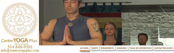 Centre Yoga Plus en Ligne