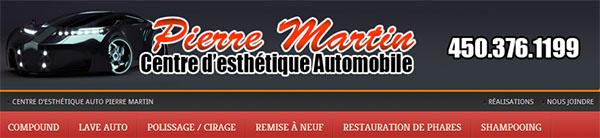 Centre d'Esthétique Automobile Pierre Martin en ligne