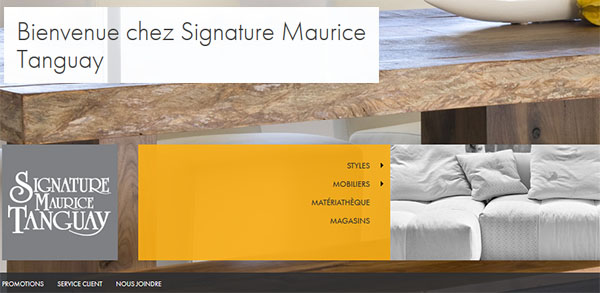 Circulaire Signature Maurice Tanguay