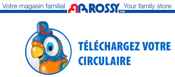 Circulaire rossy circulaire en ligne for Papeterie gatineau