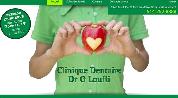 Clinique Dentaire Dr G Loufti en Ligne
