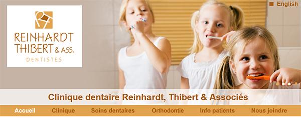Clinique Dentaire Reinhardt Thibert & Associés en Ligne