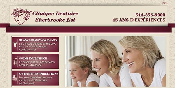 Clinique Dentaire Sherbrooke Est en Ligne