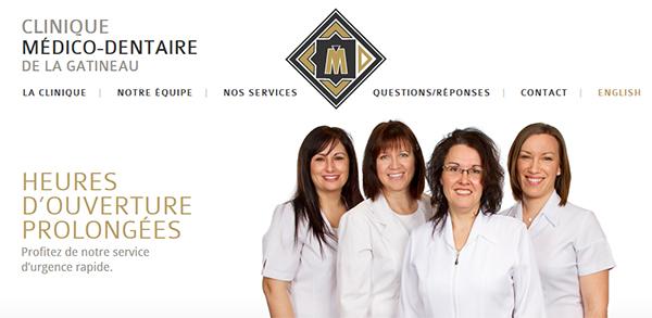 Clinique Médico-Dentaire de la Gatineau en Ligne