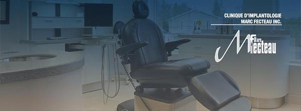 Clinique d'Implantologie Marc Fecteau en Ligne