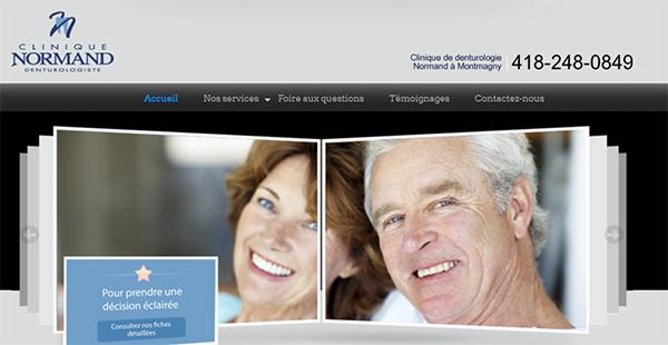 Clinique de Denturologie Normand en Ligne