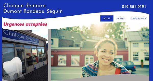 Clinique dentaire Dumont Rondeau Séguin en Ligne