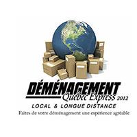 Déménagement Québec express logo