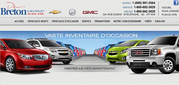 Denis Breton Chevrolet Buick GMC en Ligne