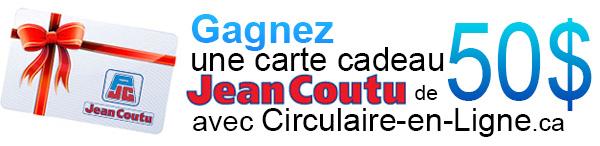 Gagnez une carte cadeau Jean Coutu de 50 dollars