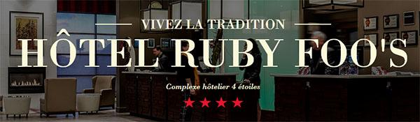 Hôtel Ruby Foo's