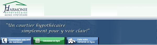 Harmonie Hypothécaire en ligne
