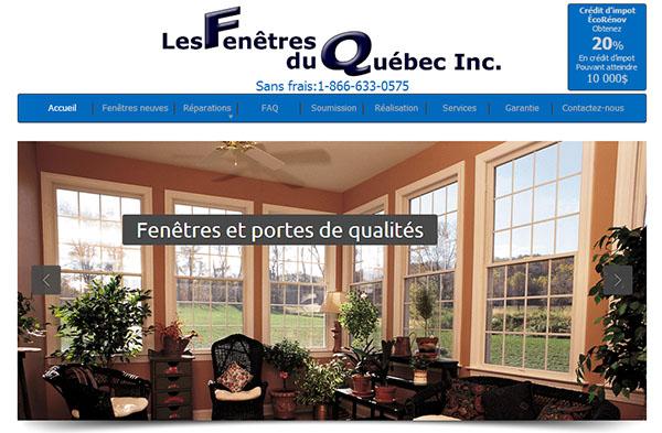 Les Fenêtres du Québec en ligne