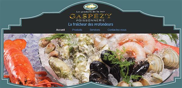 Les Produits de la Mer Gaspéz'y en ligne