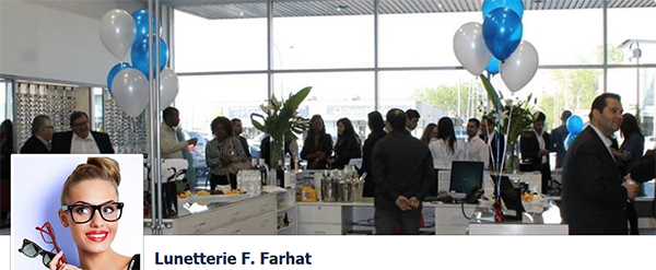 Lunetterie F Farhat en ligne