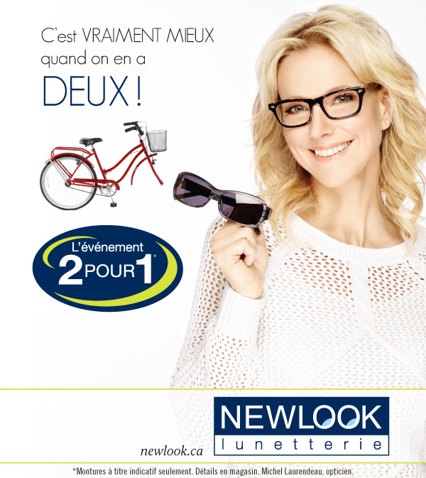 Lunetterie NewLook 2 pour 1 Promotion Circulaire