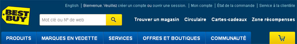 Magasin Best Buy en ligne