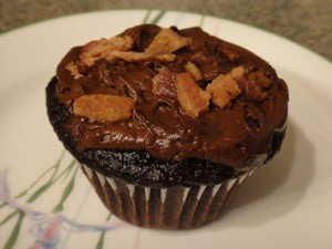 Muffin-Cupcake au bacon