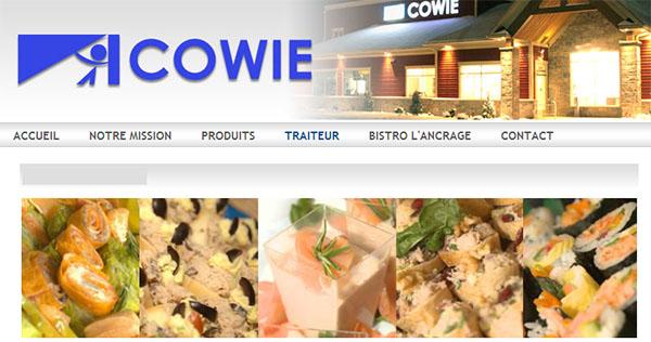Poissonnerie Cowie en ligne