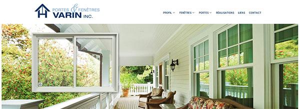 Portes et Fenêtres Varin en ligne
