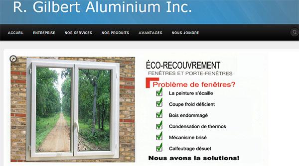 R.Gilbert Aluminium en ligne