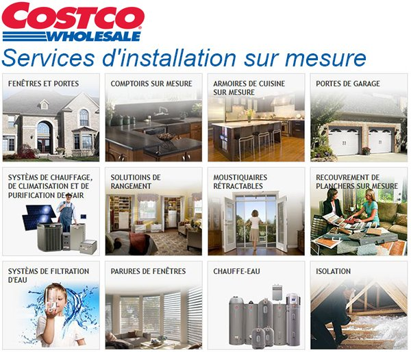 Services Installation Costco
