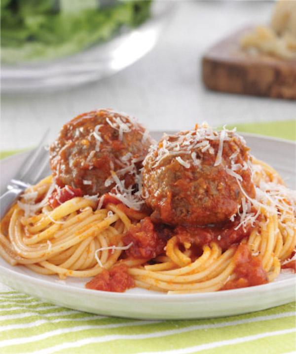 recette spaghetti et boulettes de viande circulaire en ligne. Black Bedroom Furniture Sets. Home Design Ideas