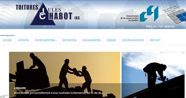 Toitures Jules Chabot en ligne