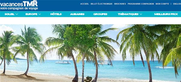 Vacances TMR en ligne