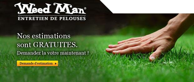 Weed Man - Entretien de pelouse - estimation gratuite
