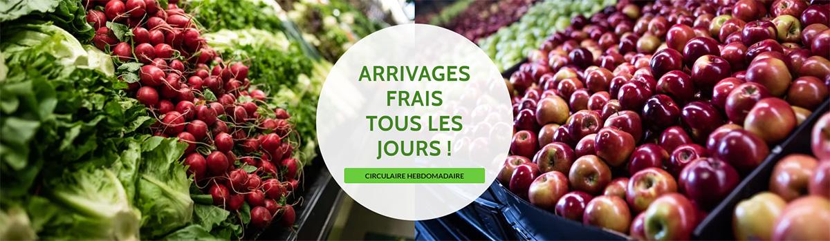 Arrivages frais tous les jours à la Fruiterie Potager Saint-Eustache - Blainville