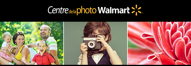 Centre de la Photo Walmart en ligne