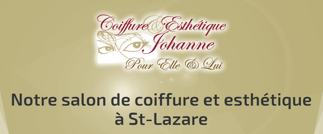 coiffure et esth tique johanne circulaire en ligne. Black Bedroom Furniture Sets. Home Design Ideas