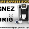 Concours Boxing Day – Gagnez une Keurig 2.0