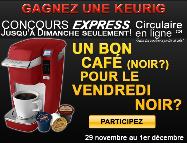 concours keurig black friday