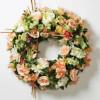 Couronne Florale de Printemps Mixtee