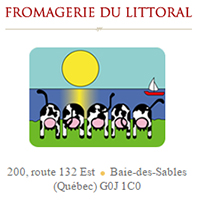 Annuaire Fromagerie du Littoral