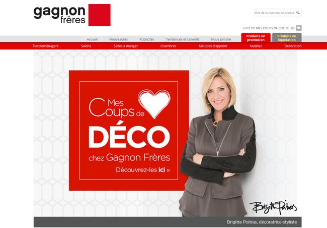 Gagnon frere magasin en ligne table de lit for Liquidation meuble chicoutimi
