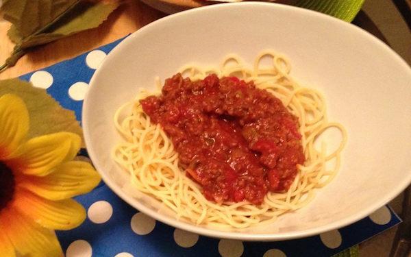 Grosse sauce à Spaghetti