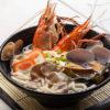 Circulaire Kaisen udon, Soupe de Nouilles aux Fruits de Mer