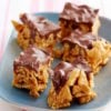 Circulaire No-Bake Honey-Peanut Butter Bars Recette