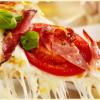 Circulaire Pizza à la Pancetta et aux Olives